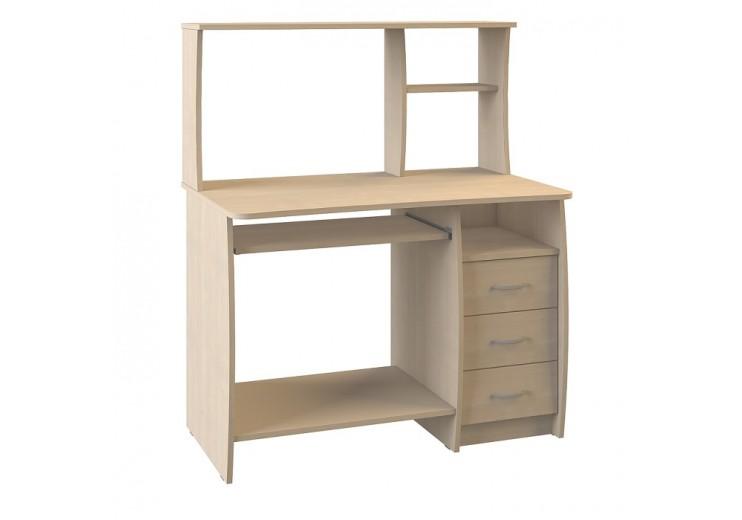 Стол компьютерный Комфорт 4 СКР (Дуб паллада)