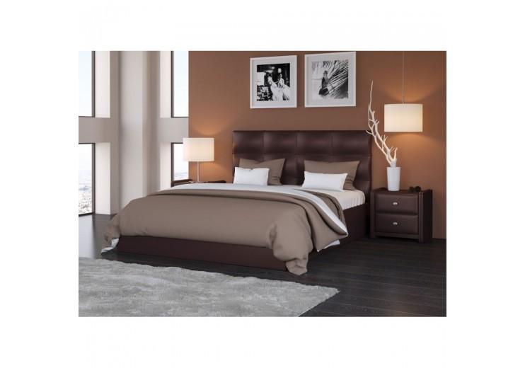 Кровать Вена Teos (dark brown)