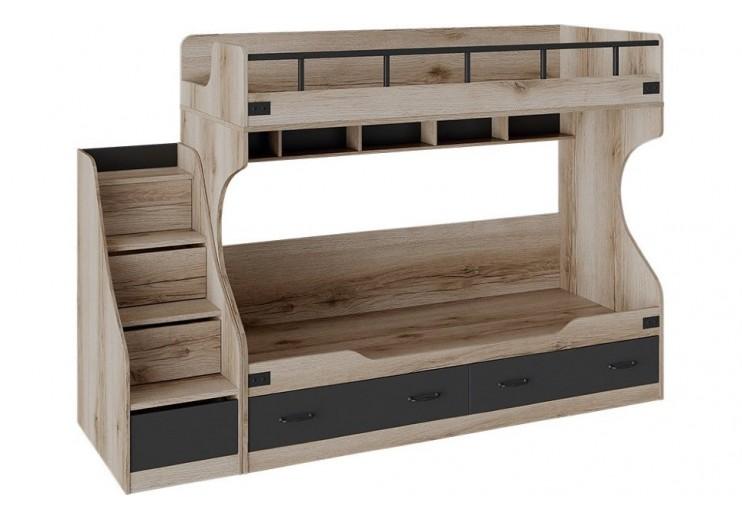 Кровать двухъярусная  Окланд ТД-324.11.01