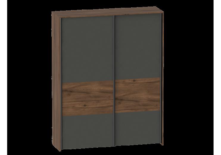 Шкаф с раздвижными дверями (2 дв) Глазго спальня